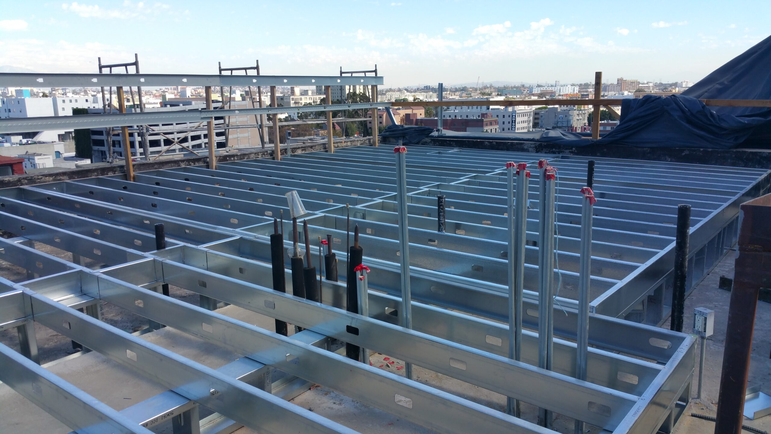 Steel Structure Framing