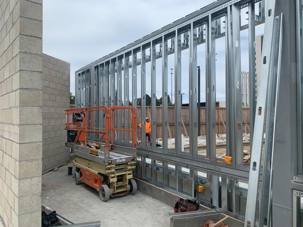 Metal Stud Framing, Lath & Plaster, Dens Glass