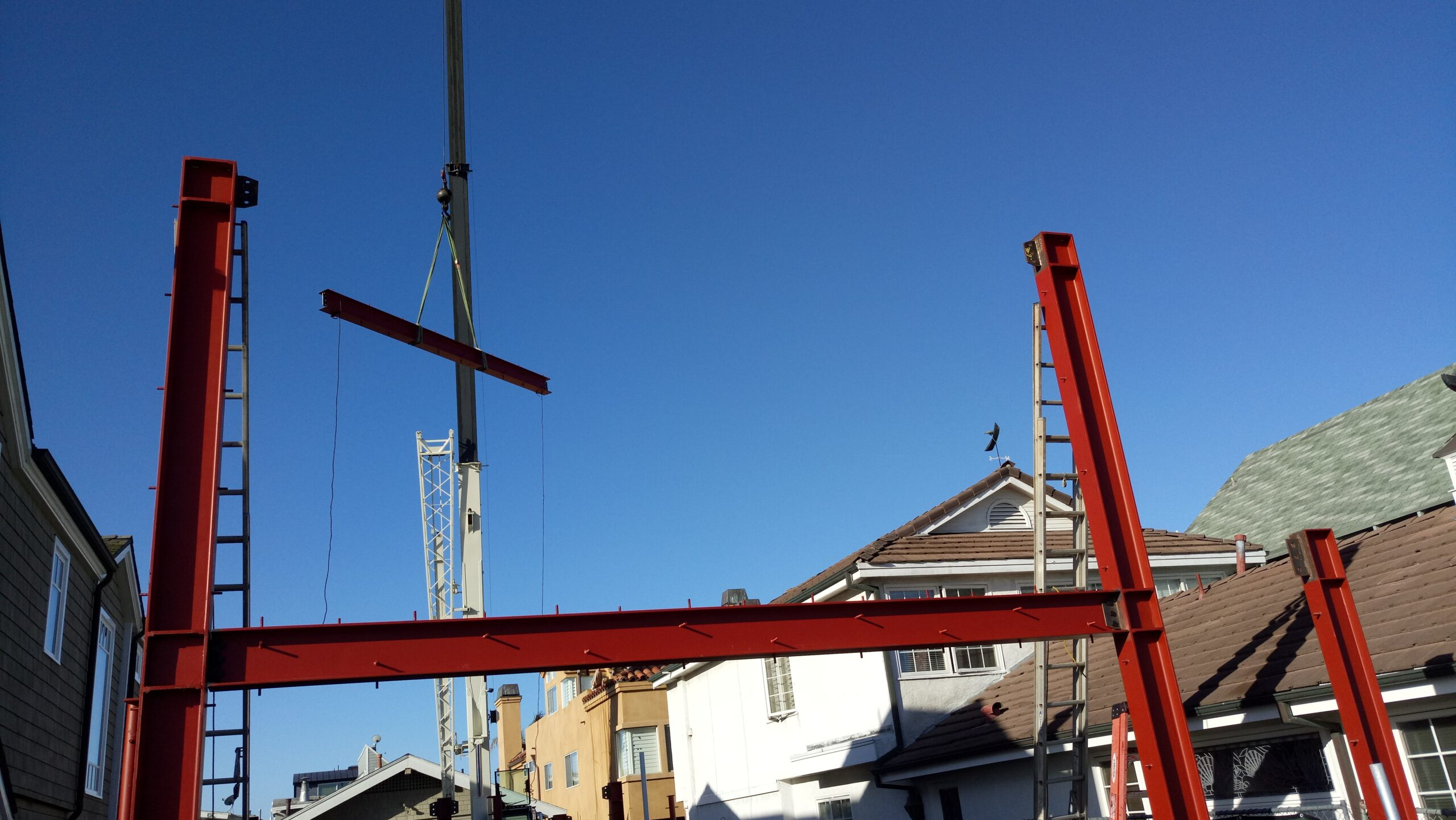 Concrete Forming, Rebars Installation, Steel Structure Framing