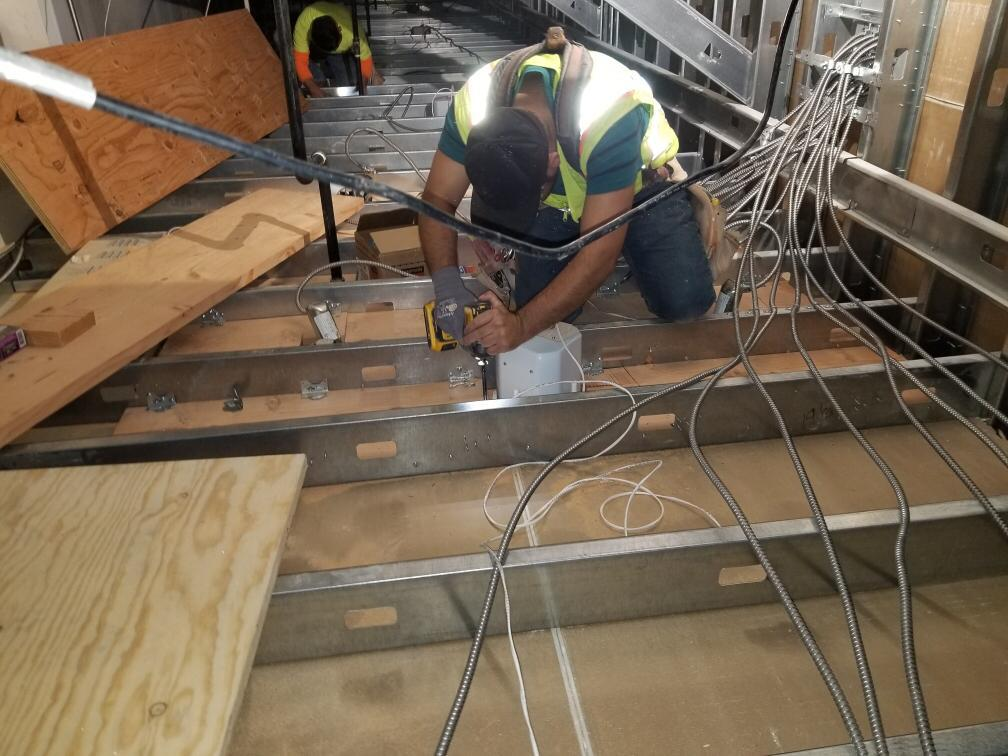 Flooring, Piping, Electrical